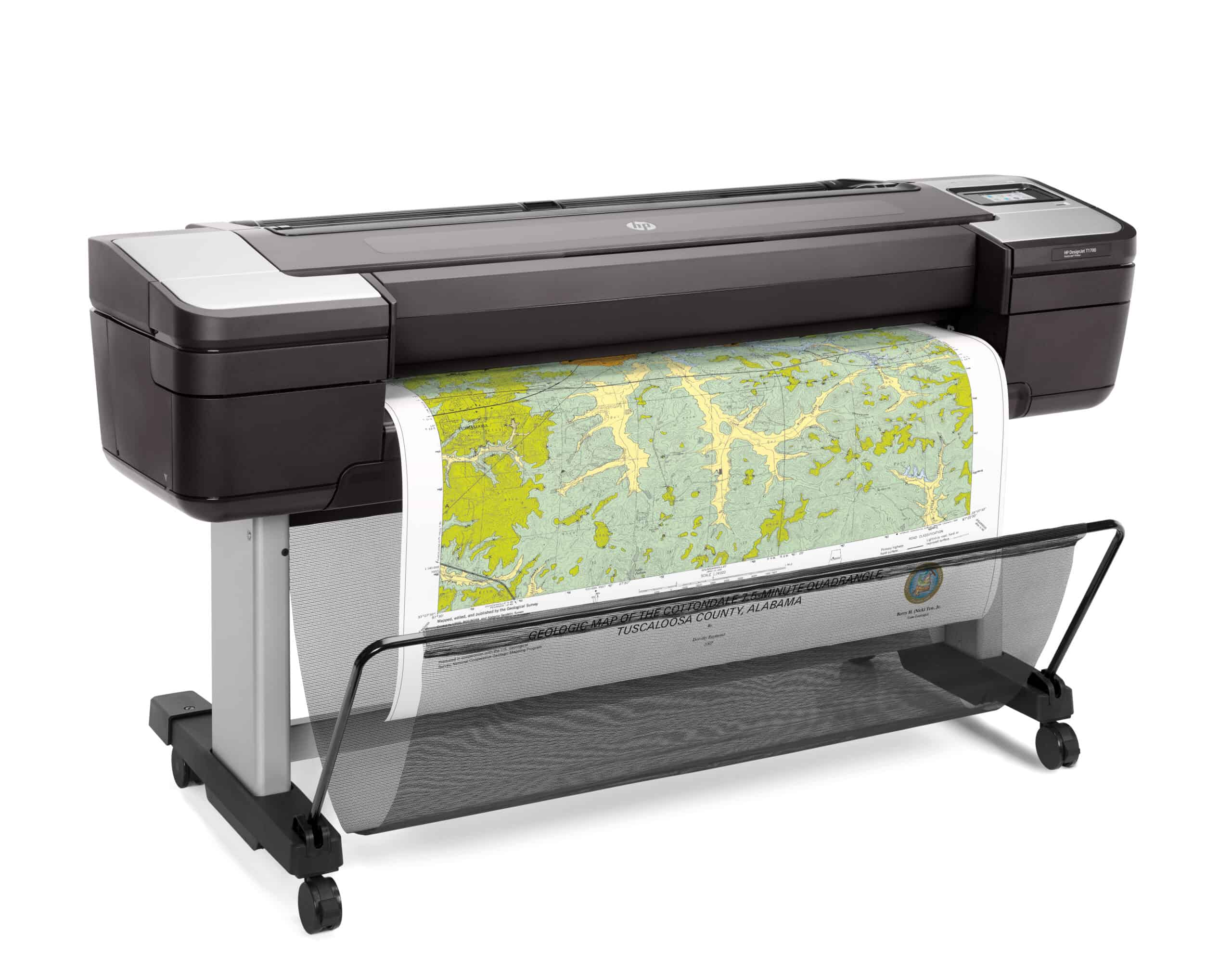 NEW RELEASE HP DesignJet T1700 PostScript (44 inch) Printer