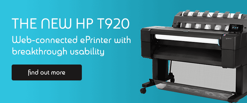 HP T920 PS Designjet Printer